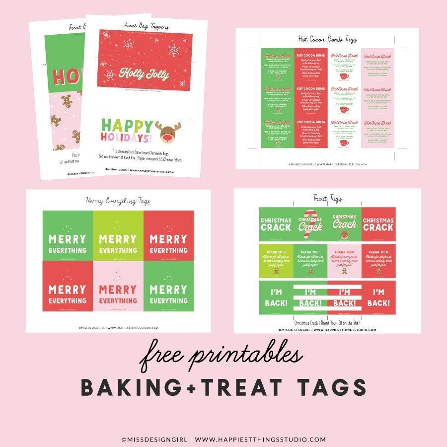 Baking Printables