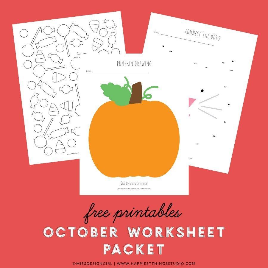 October Worksheets